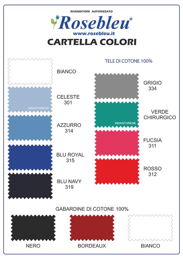 Casacca donna avvitata con zip intera rosebleu for Cartella colori dikson